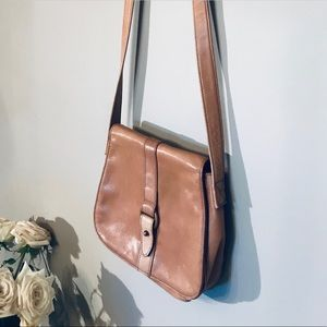 Bags - SOLD. Leather satchel crossbody
